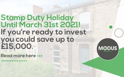 Stamp Duty Holiday Announcement